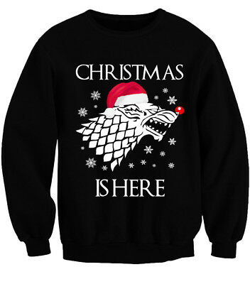 Christmas Is Here! Got Game Of Thrones Style Ugly Christmas Jumper Xmas Sweater