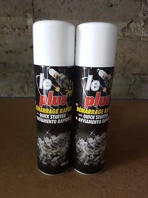 Lot 2 bombes de demarrage rapide, start pilot  LE PLUS 250ml