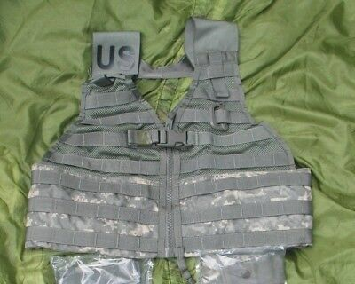 ACU MOLLE II FIGHTING LOAD CARRIER  TACTICAL VEST US Military Surplus