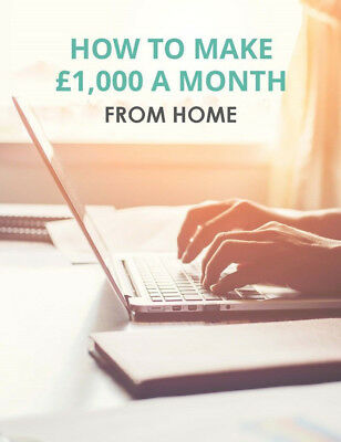 Make £1,000+ Every Month From Home, Tax-Free! Make Money Online