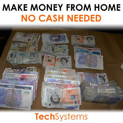 Make Huge Money Online From Home | Earn Up To £3000+/day | £100 In First 24Hrs