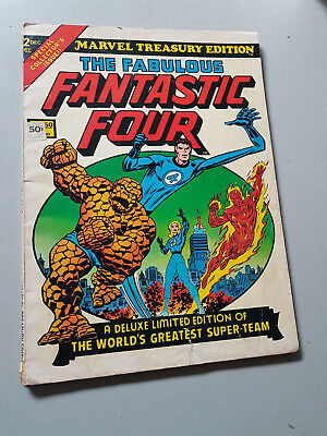 MARVEL TREASURY EDITION No. 2 The Fabulous Fantastic Four - 1974