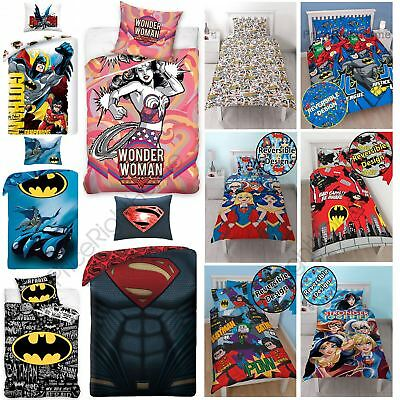 DC Comics Duvet Cover Sets