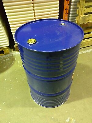 ** FREE**  50 gallon drum. Blue. Ideal for fuel storage.  **FREE**