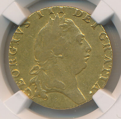 MAKE AN OFFER! - Great Britain GOLD Guinea 1793 - NGC VF Details