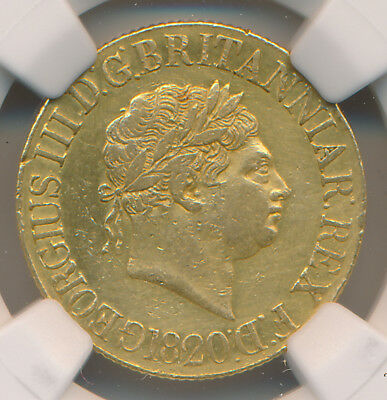 MAKE AN OFFER! -- Great Britain GOLD Sovereign 1820 - NGC XF Details