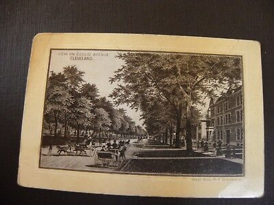 Cleveland,ohio Euclid Avenue View Trade Card-Vintage Jersey Coffee