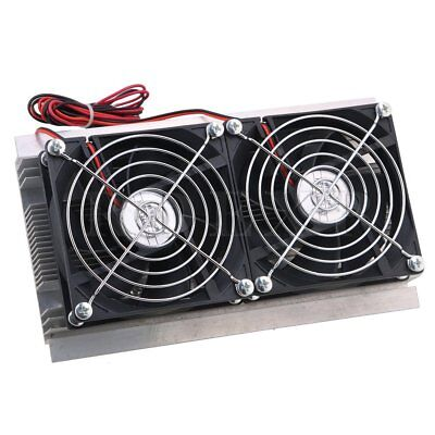 DC12V Dual-Core Thermoelectric Peltier Refrigeration Cooler Fans 120W