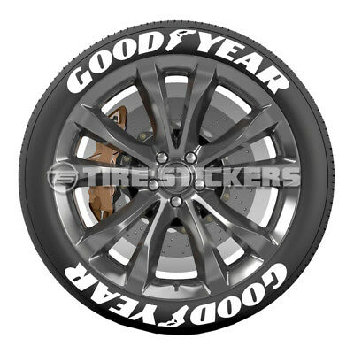 Continental Tire Stickers >> White Continental Tire Stickers 1 25 For 14 15 16 Wheels 8