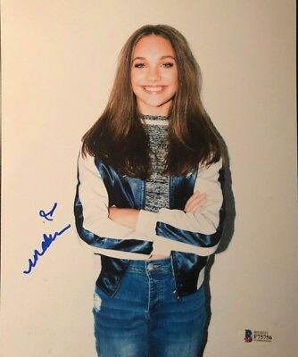 Maddie ziegler signed autographed 8x10 photo sia chandelier proof maddie ziegler signed autographed 8x10 photo sia chandelier dance moms proof aloadofball Gallery