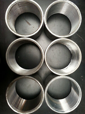"(Lot of 6) New 4"" Aluminum Coupling for Rigid"