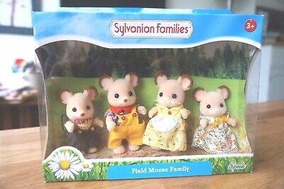 Sylvanian Families FIELD MOUSE FAMILY Flair 4178 BNIB