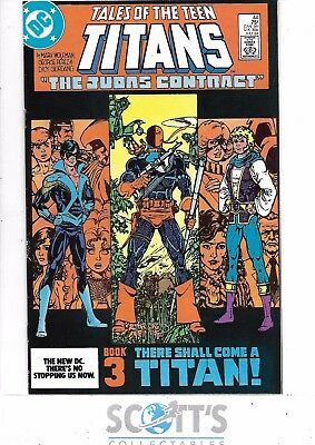 New Teen Titans  #44  VF/NM   1st Nightwing!  Copy 2