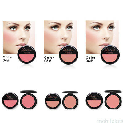 6 Colors Ruddy Lasting Cheek Rouge blush Concealer Palette with Mirror