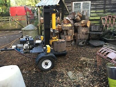 Towable log splitter for hire with operator