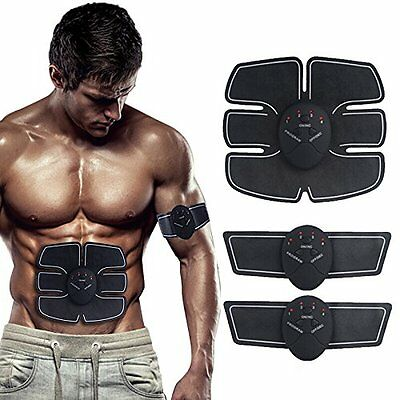 2017 EMS Remote Control Abdominal Muscle Trainer Smart Body Building Fitness Abs