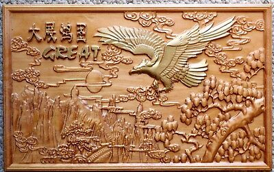Wood Carving Wall Art Carved Wooden Gift Picture