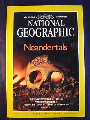 National Geographic January 1996 - Neandertals