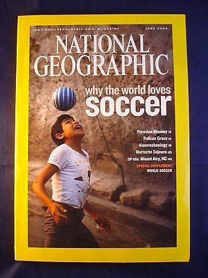 National Geographic - June 2006 - Soccer