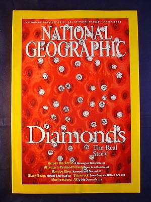 National Geographic - March 2002 - Diamonds