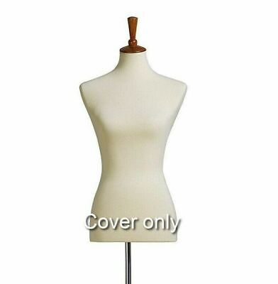 Beige Stretchy Half Body Mannequin COVER To Renew Female Mannequin Torso - 1 Pc