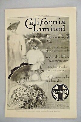 1901 D Southern Pacific Railroad California Sanitarium Of The World Print Ad 1900-09 Advertising