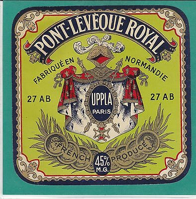 F 663 Fromage Pont L Eveque Royal  Paul Launay  Noards   Lieurey   Eure