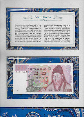 *Most Treasured Banknotes Korea 1983 1000 Won GEM UNC P47