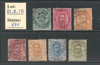 RC_8_171. ITALIA. Lot of Early Kingdom used commemorative stamps.