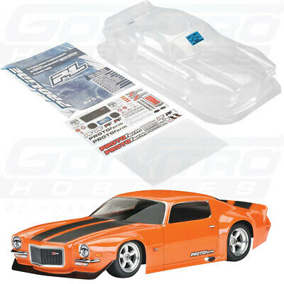 Protoform 1552-40 1971 Chevrolet Camaro Z28 Clear Body : VTA Clas