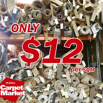 [McMats] Room Size Rolls CHEAP $12 SQM HUGE Range Of Styles & Colours