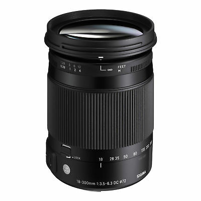 Sigma 18-300mm f/3.5-6.3 DC HSM Macro Zoom Contemporary Lens for Sony A