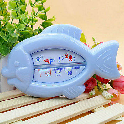 Baby Fish Bath Water Safey Thermometer Floating Toy Sensor Temperature Plastic