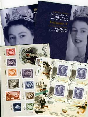 LQ. ca. KEEPSAKE folder Volume #1 QUEEN Elizabeth ll Diamond Jubilee Canada 2012
