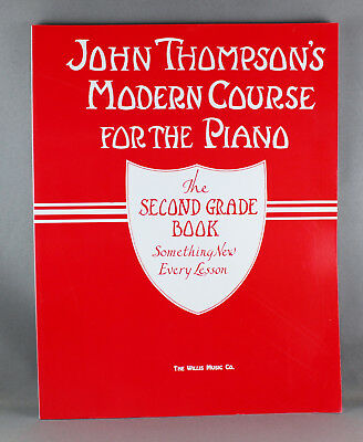 John Thompson's Modern Course For The Piano - Various Grades - Brand New