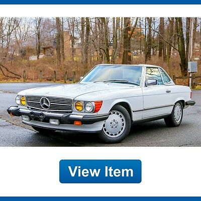 1989 Mercedes-Benz SL-Class  1989 Mercedes Benz 560SL Rear Seat Hard Top Brand new Soft Top California Car