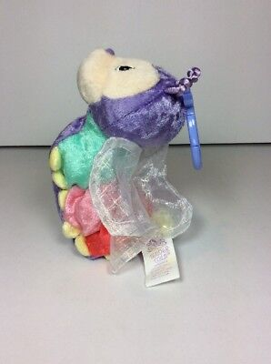 NEW PRECIOUS MOMENTS Caterpillar Tender Tails Plush Beanie KEYCHAIN 721056 1999