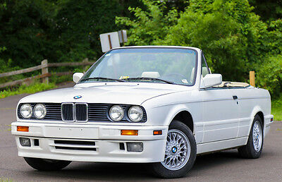 1992 BMW 3-Series  1992 BMW 325ic Convertible Sport Package Automatic Rare 86K Miles CARFAX