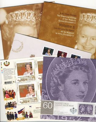 mca. KEEPSAKE folder Volume # 5 QUEEN Elizabeth ll Diamond Jubilee Canada 2012