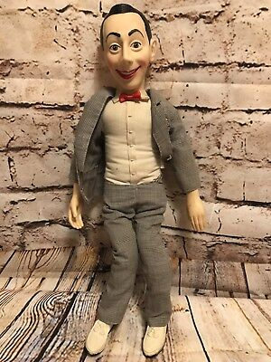 "18"" VINTAGE PEE-WEE HERMAN 1987 Doll. Pull string functions.Voice function wrong"