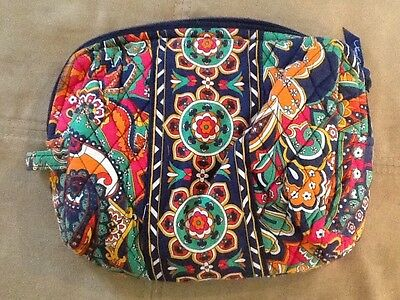 Vera Bradley LARGE COSMETIC TRAVEL BAG in Venetian Paisley