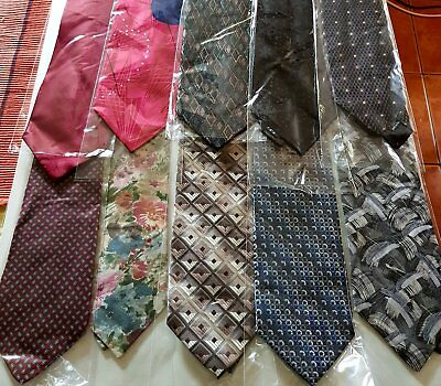 Bulk Lot x 50 Mens Fashion Ties - Mixed Brands - Imported - Free Postage - Box 4