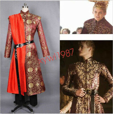 Game of Thrones King Joffrey Baratheon Medieval Mens Cosplay Costume