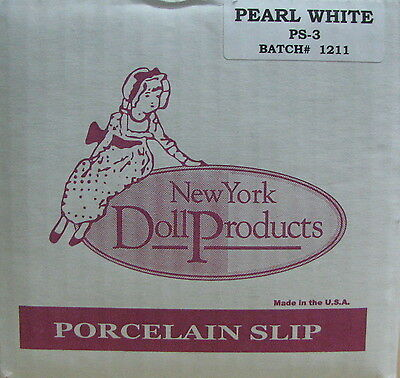 Porcelain Slip - PEARL WHITE, by New York Doll Products
