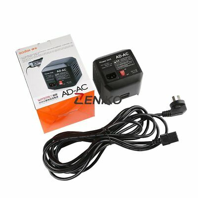 Godox AD-AC Power Source AC Wall Adapter Cable for AD600B AD600BM AD600M AD600