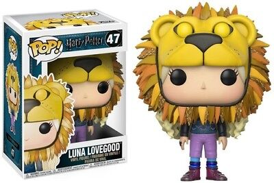 Harry Potter S4 - Luna Lovegood (Lion Head) Funko Pop! Movies: Toy