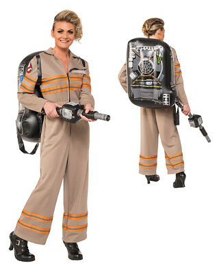 Womens Deluxe Ghostbusters Jumpsuit size Large 12-14