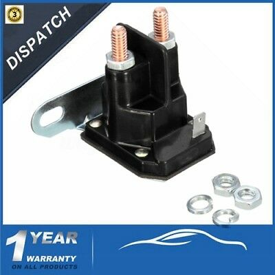 Universal 3 Pole Starter Solenoid Relay Switch Replace For MTD Lawnmower Ride On