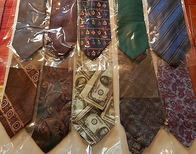 Bulk Lot x 50 Mens Fashion Ties - Mixed Brands - Imported - Free Postage - Box 6