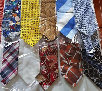 Bulk Lot x 55 Mens Fashion Ties - Mixed Brands - Imported - Free Postage - Box 8